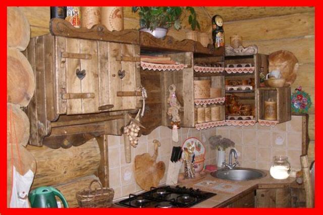 Кухня три медведя массив дуба или